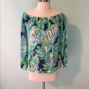 Lilly Pulitzer blouse, size XS